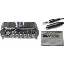 Headamp 4 Pro Four Channel Headphone Amp Bundle