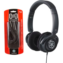 HPH-150B Open-Air Neutral Palette Headphone Bundle