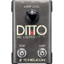 Ditto Mic Looper Stomp Box Effect Pedal