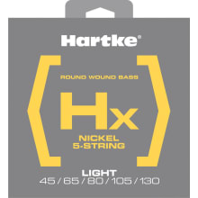 Nickel Round Wound Bass Strings