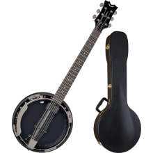 BW6E BC Backwoods Acoustic-Electric Banjo Bundle