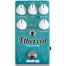 Ethereal Delay and Reverb Effect Pedal
