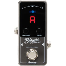 BIGMINI Chromatic Tuner Mini Guitar Pedal