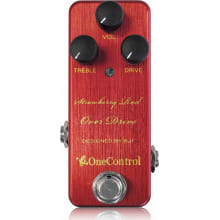 Strawberry Red BJF Overdrive Guitar Effect Pedal
