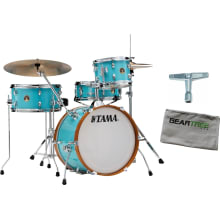 Tama LJK48S Club Jam Wrap 4pc Aqua Blue Drum Shell