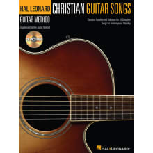 Christian Guitar Songs Method Book w/CD