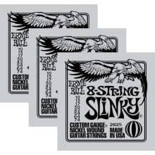 2625 8-String Slinky Electric String 3-Pack