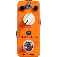 Ultra Drive Distortion Guitar Effect Pedal