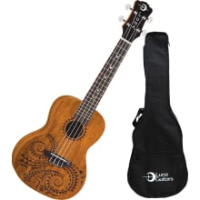 Tattoo Mahogany Ukulele with Bag