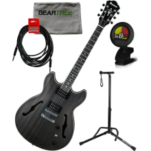 AS53 TKF AS Artcore Hollow Electric Guitar Bundle