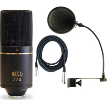 770 Cardioid Recording Microphone Bundle