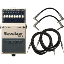 GE-7 Graphic Equalizer Pedal Bundle