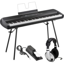 SP-280 Weighted 88-Key Digital Piano Bundle
