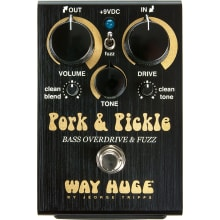 WHE214 Pork & Pickle Bass Overdrive/Fuzz Pedal