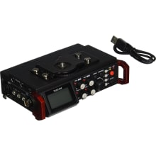 DR-701D 6-Track Portable Recorder with HDMI Sync