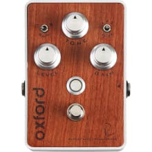 Oxford Bubinga Wood Finish Fuzz Guitar Pedal