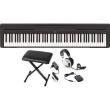 P45B 88-Key Digital Piano Bundle