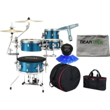 Cocktail-JAM Mini HLB 4pc Drum Shell Pack Bundle