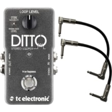 Ditto Stereo Looper Pedal Bundle