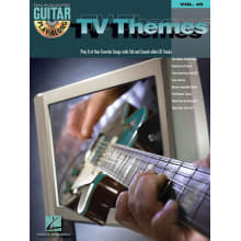 TV Themes Play Along for Guitar w/CD