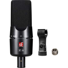 X1 A Recording Condenser Microphone with Clip