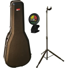 GC-Classic Deluxe Classical Guitar Case Bundle