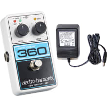 NANO LOOPER 360 Looper Pedal with Power Supply
