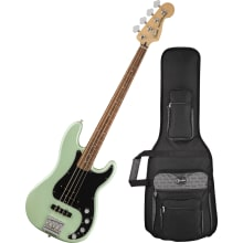 Deluxe 4-String Active Precision Bass Guitar w/Bag