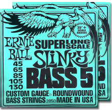 2850 Slinky Super Long Scale Bass 5-String 2-Pack
