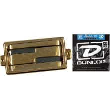 Alumitone Humbucker Gold Ring Pickup Bundle