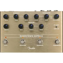 Fender Downtown Express Bass Multi Effects Pedal