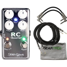 RCB-V2 RC Booster V2 Guitar Effect Pedal Bundle