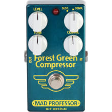 Forest Green Compressor Guiar Effect Pedal
