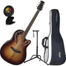 CE48P-KOAB Celebrity Elite Plus A/E Guitar Bundle