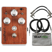 Bubinga Wood Plate Compressor Pedal Bundle