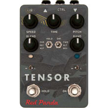 Tensor Tape Speed/Pitch/Time Stretch Effect Pedal