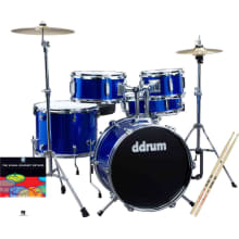 D1PB Junior 5pc Drum Complete Kit Bundle
