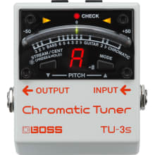 TU-3S Compact Chromatic Tuner Pedal