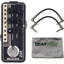 Mooer Micro 012 Fried Mien Guitar Preamp Pedal w/