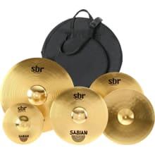 SBR Promo Cymbal Pack Bundle - 110/14/16/20