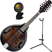 M510EDVS A-Style Acoustic/Electric Mandolin Bundle