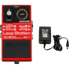 RC-1 Loop Station Guitar Effect Pedal Bundle