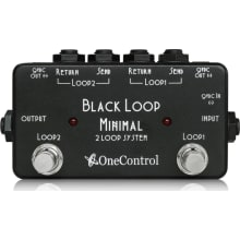 Black Loop 2 Switcher with Two DC Out Pedal