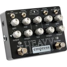 Heavy Distortion Guitar Effect Pedal