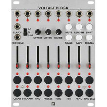 Voltage Block 8-Channel 16-Stage CV Sequencer