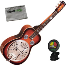 PBS-D Paul Beard DLX Squareneck Resonator Bundle