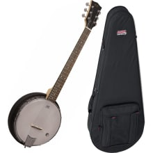 AC-6+ Sliding Magnetic Pickup Banjo Bundle