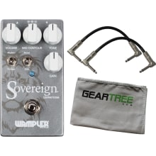 Wampler Sovereign Distortion Pedal UPDATED w/ 2 Pa