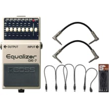Compression and Sustain Effect Pedals
