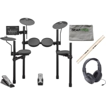 Yamaha DTX402K Electronic Drum Set w/ Headphones,